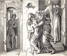 Elisha Restores the Woman's Son to Life, 2 Kings 4:32-37