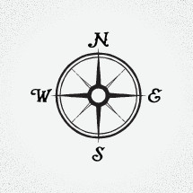 An interesting vector of a compass that you can use for various designs, whether it be searching for something, as part of a map or legend, or something else entirely. Hope you enjoy it!