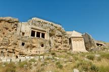 The Tombs of Benei, Hezir, and Zechariah.