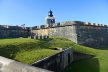 Fortress of San Felipe in Puerto Rico