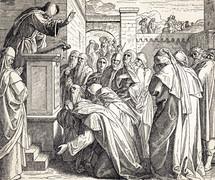 Israelites Confess Their Sins, Nehemiah 9:1-3