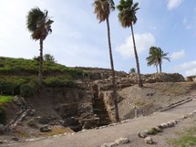 "Israelite staircase at Megiddo (""Armageddon"")"
