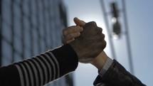 united handshake