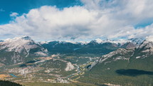 Canadian Rockies in the day