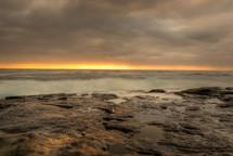 Sunrise over the Merry Beach.