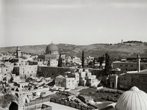 Dome of the Rock and Western Wall.