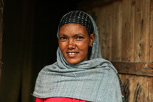 Shrouded Ethiopian Woman