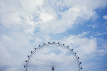 Ferris wheel in London