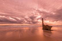 Dicky Beach at sunrise