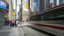 Bay and King Street Toronto