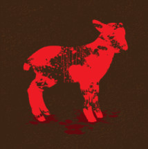 Lamb of God - Jesus Blood Shed Sacrifice Salvation Redemption Splatter