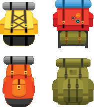 Backpack graphics