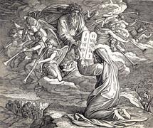 Moses Receives the Ten Commandments, Exodus 31:18