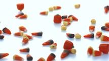 candy corn falling