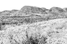 Australia outback canyon