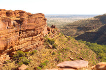 the kings canyon nature wild and outback