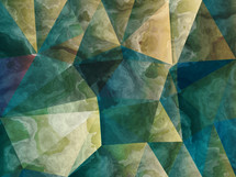 marbleized triangle abstract background