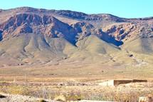 desert mountains in Morocco