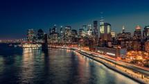 New York City from Manhattan Bridge