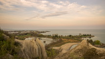 Scarborough Bluffs park Canada