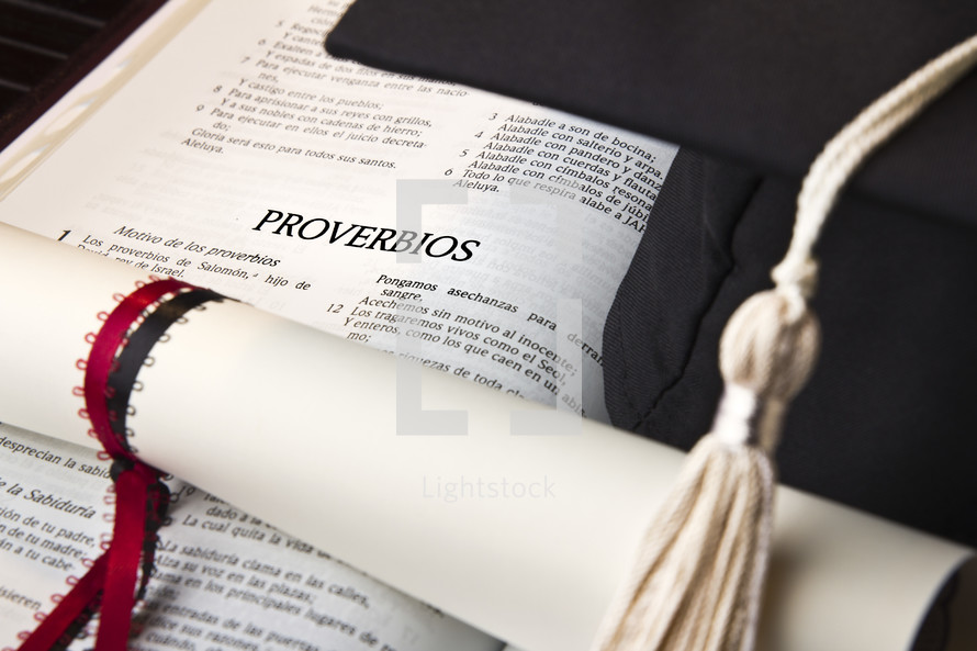 proverbios, graduation, diploma