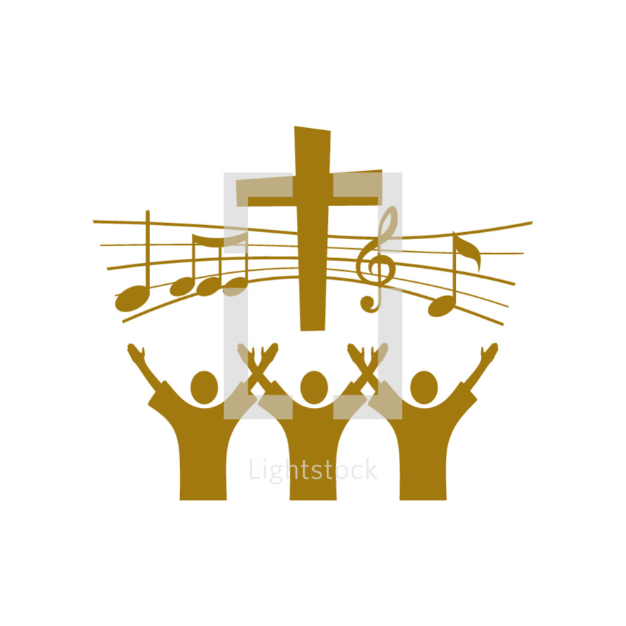 Choir logo — Vector — Lightstock