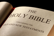 Open Holy Bible