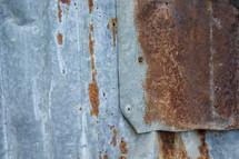 rusty sheet metal background