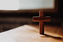 small wooden cross