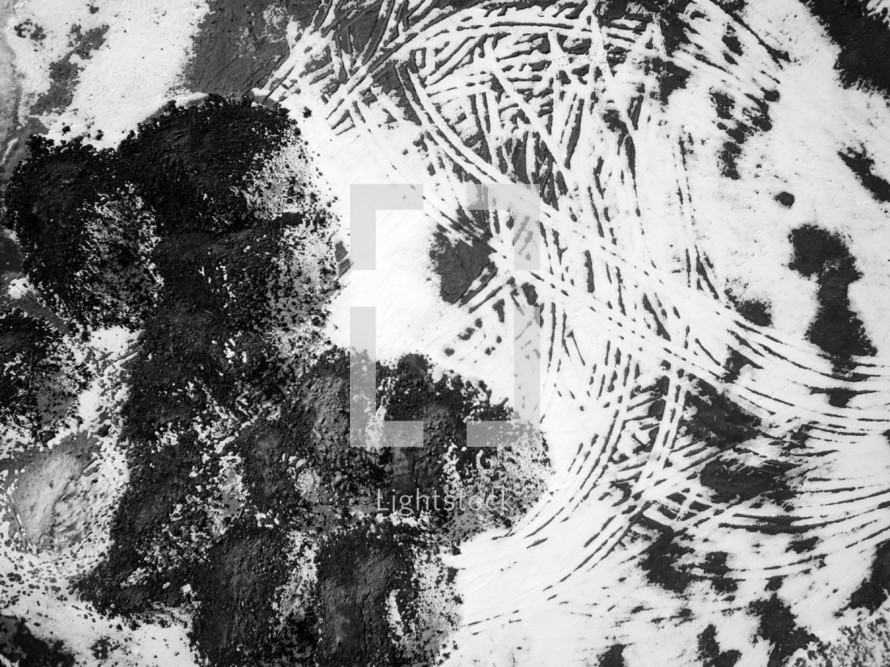abstract grunge black and white background