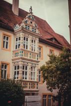 ornate hotel windows