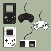 video game icons