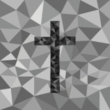 textured cross