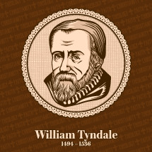 William Tyndale (1494 – 1536) was an English scholar who became a leading figure in the Protestant Reformation in the years leading up to his execution. He is well known for his translation of the Bible into English.