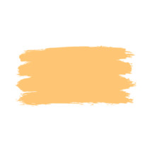 The yellow paint brush stroke is drawn by hand. Paintbrush drawing on canvas. Hand-drawn brushstroke beige texture on paper. Rectangle shape. The graphic element saved as a vector illustration in the EPS file format for used in your design projects.