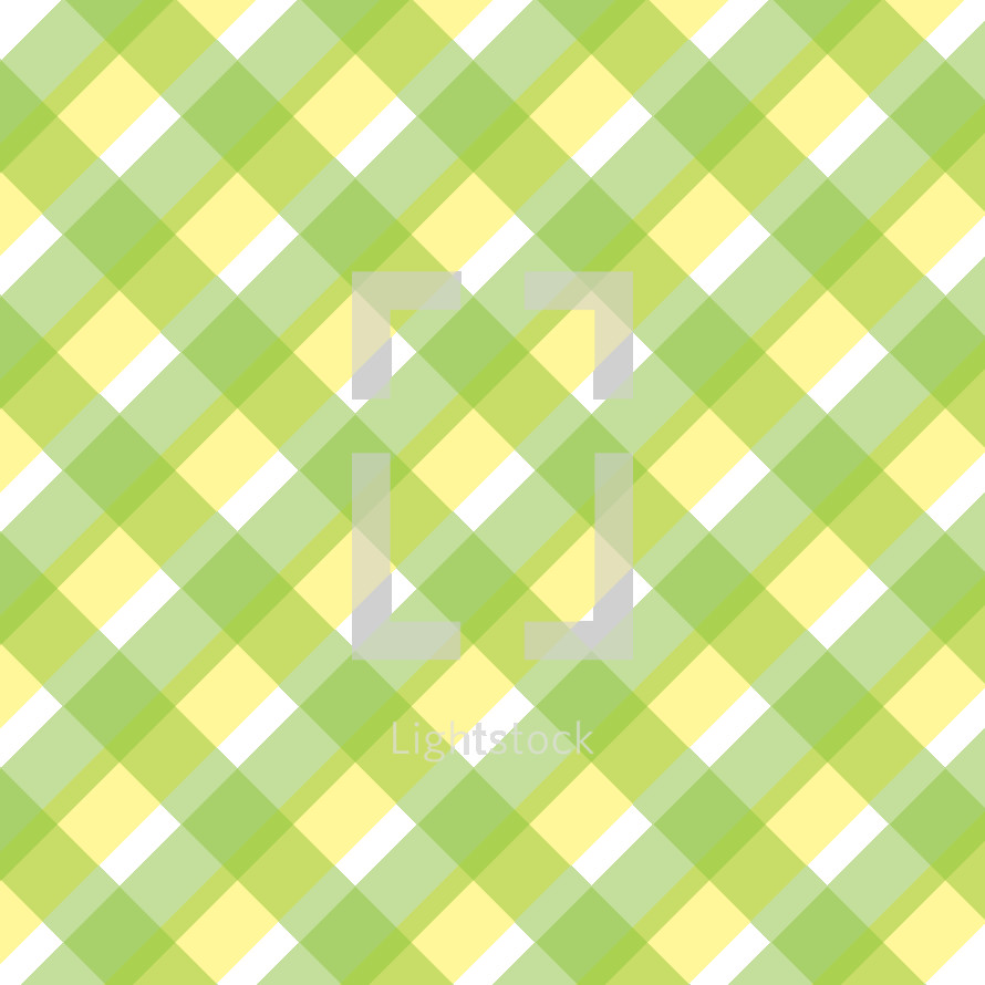 green and yellow plaid
