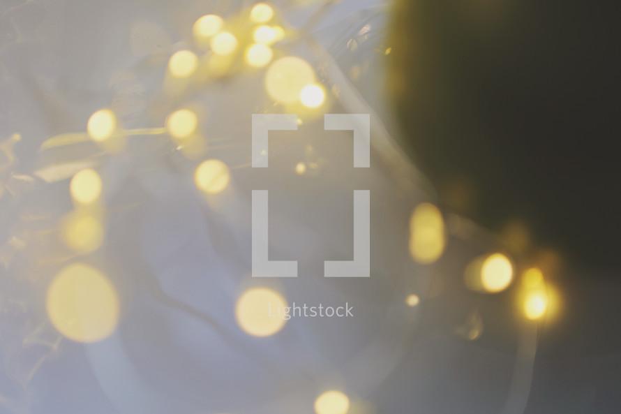 Christmas lights abstract