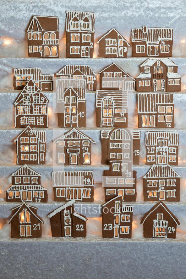 gingerbread house cookies
