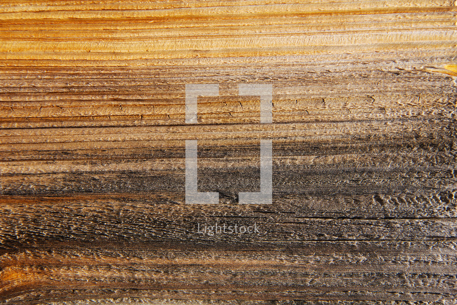 Wood grain on reclaimed timber slats