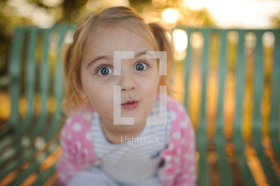 bright eyed child