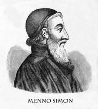 Menno Simon, 1492 - 1559, Anabaptist leader