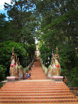 Chinese stair steps