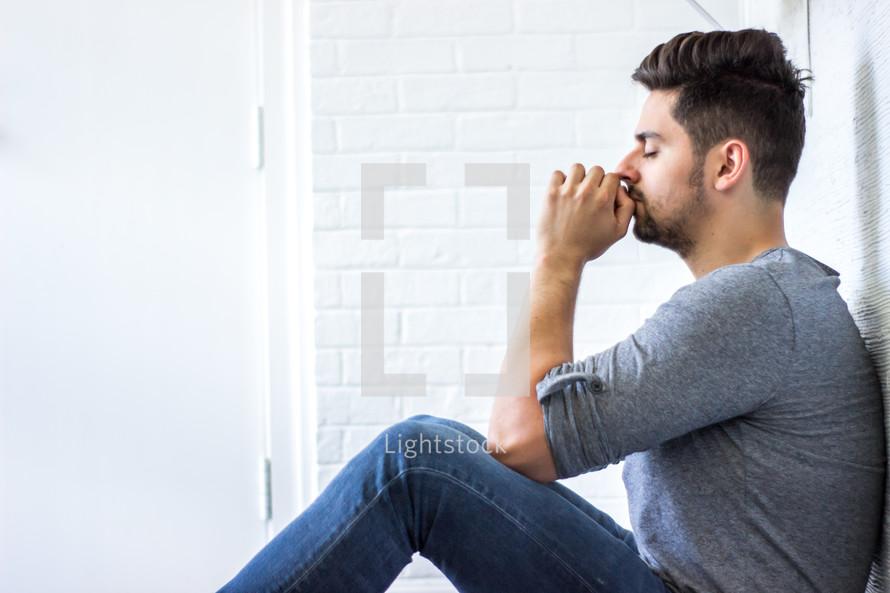 praying male