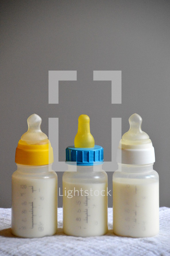 milkbottles for the spiritual newborns, 