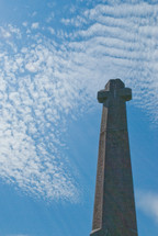 Stone cross monument