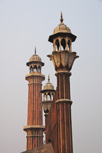 towers of a mosque