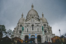 Sacre Coeur cathedral in Paris