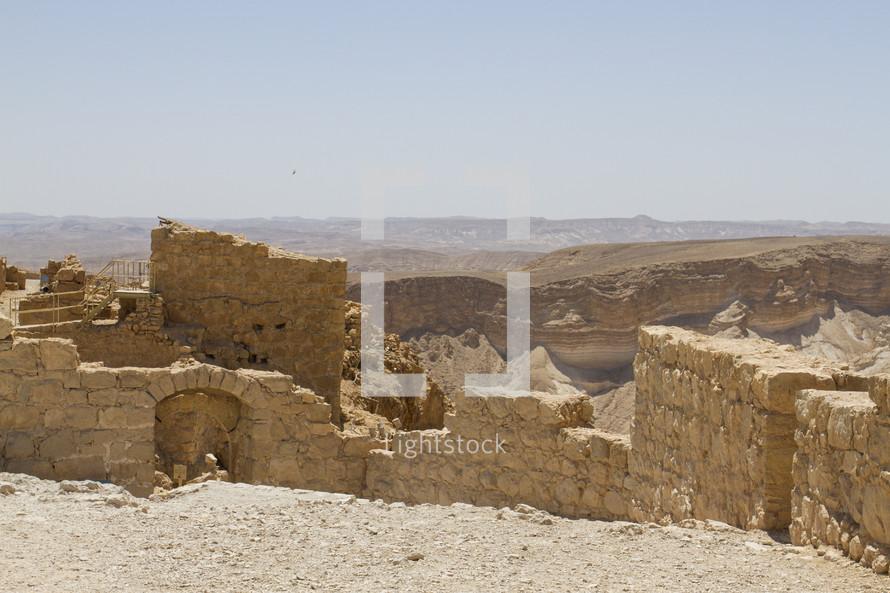 historic ruins in Jerusalem