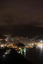 Rio de Janeiro - Brazil at night