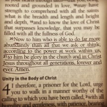 Bible scripture about doing in abundance